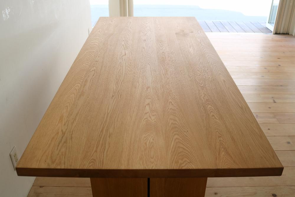 オーク材無垢テーブル